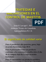 Estrategias Control de Mastitis