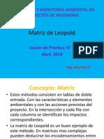 Practica5-Matriz de Leopold