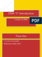 DSM 5 Introduction