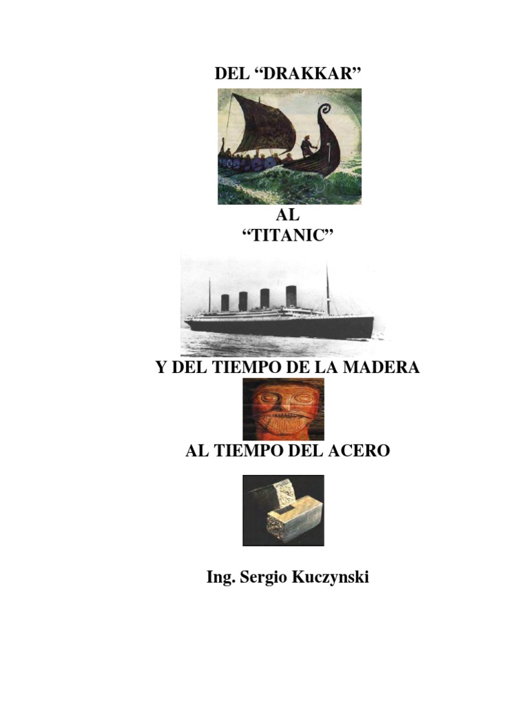Del Drakkar Al Titanic Libro Completo