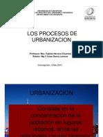Procesos de Urbanizacion Udec