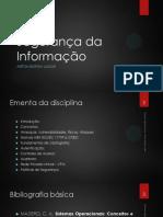 Segurança da Informação - Sistemas