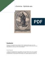 Policarpo - Epistola Aos Filipenses