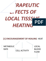 Therapeutic Effects of Local Tisssue Heating