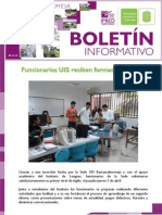 BOLETÍN ELECTRÓNICO SEDE UIS BARRANCABERMEJA – ABRIL DE 2014