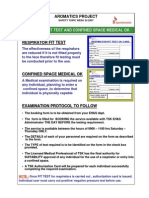 Week 24 Respirator Fit Test & Confined Space Medical OK