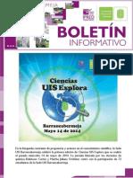BOLETÍN ELECTRÓNICO SEDE UIS BARRANCABERMEJA – MAYO DE 2014