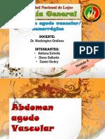 Exposición 1 - Abdomen Agudo Vascular Hemorragico