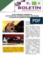 """DÚO ZIBOROV ABRIRÁ EL  XXII FESTIVAL INTERNACIONAL DE PIANO  """"CIUDAD DE BARRANCABERMEJA"""""""