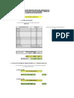 Calculo de Dotacion Para Una Vivienda Multifamiliar de 4 Pisos