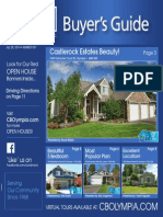 Coldwell Banker Olympia Real Estate Buyers Guide July 26th 2014