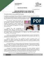 22 de julio de 2014_ATENDIÓ SSO 6 MIL 755 PARTOS EN PRIMER TRIMESTRE
