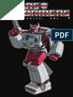 Transformers Classics, Vol. 7 Preview