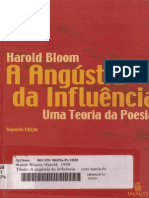 Angustia Da Influencia Harold Bloom