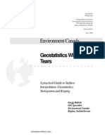 Geostatistics Without Tears