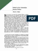 Dialectical Method in Aristotle's Athenaion Politeia