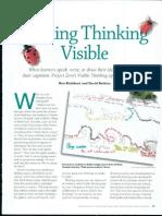 Making Thinking Visible Pdf
