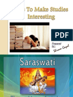 Tips to Make Studies Interesting