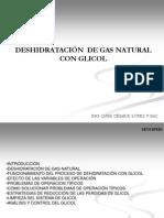 Deshidración de Gas Natural Con Glicol