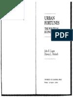 Urban Fortunes - LOGAN, John R.; MOLOTCH, Harvey L.