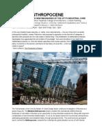 Mumbai Anthropocene Syllabus
