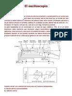 Electronica Osciloscopio