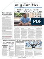 The Daily Tar Heel Weekly Summer Edition for July 24, 2014