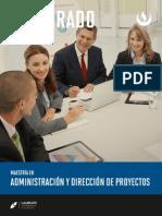 Maestria Direccion de Proyectos