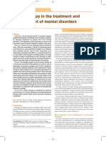 Music Therapy in the Tratment and Managment in Mental Disorders
