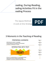 how pre-reading during-reading and post-reading activities fit in the reading process
