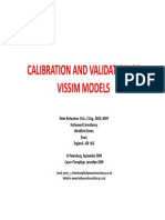 Calibration and Validation of VISSIM Models_190909