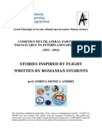 Stories written by Romanian students inspired by flight