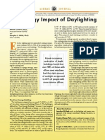 Energy Impact of Day Lighting