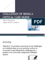 Challenges of Being a Critical Care Nurse