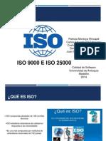 ISO9003 - ISO25000
