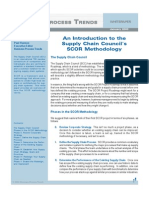 An Introduction to the Supply Chain Council's SCOR Methodology