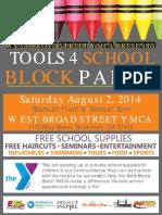 West Broad Street YMCA Block Party!