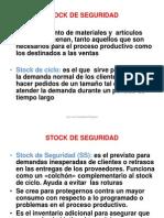 8 Stock de Seguridad