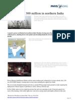 2012 07 Blackout Million Northern India