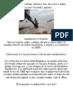 Los efectos del cambio climatico nos afectara a todos by Gerardo lagunes