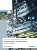 Power Electronics for the Enhancement of Grid Efficience