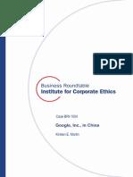 A Term Paper Case Study Google, Inc. in China (1)
