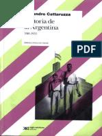 Cattaruzza - Historia de La Argentina 1916-1955
