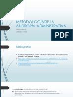 Metodologíade La Auditoría Administrativa Direccion 3