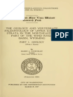 [Paleoshare] Tourtelot H.a. 1957 - The Geology and Vertebrate Paleontology of Upper Eocene Strata in the NE Part of the Wind River Basin, Wyoming