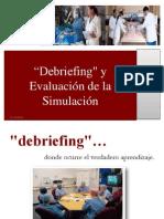 Debriefing y Evaluacion en La Simulacion