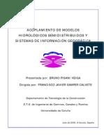 Acoplamiento de Modelos Hidrológicos Semidistribuidos y SIG