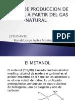 58892537 Planta de Produccion de Metanol a Partir Del