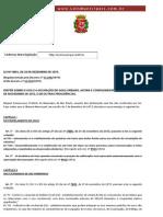 Lei Ordinária 8001 São Paulo
