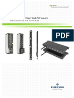 Emerson Network Power Rack PDU Systems Product Selection Guide; (R02-11); (SL-20828)